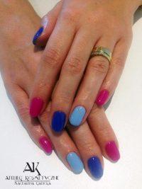 Manicure Hybryda Paznokcie Atelier Kosmetyczne Magdalena Radecka 33