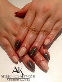 Manicure Hybryda Paznokcie Atelier Kosmetyczne Magdalena Radecka 19