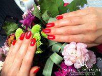 Manicure Hybryda Paznokcie Atelier Kosmetyczne Magdalena Radecka 2